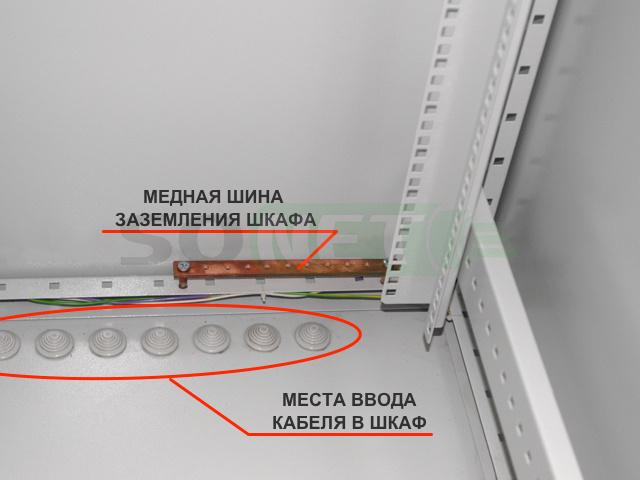 Шкаф климатический напольный 33U 600х900, сэндвич-панель, укомплектованный, Н-3 - купить в